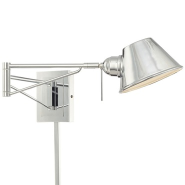 P611-077 Swing Arm Wall Sconce