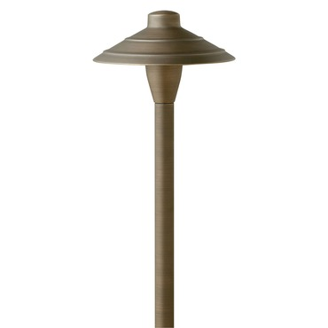 Hardy Island Ribbed Exterior Path Light by Hinkley Lighting | 16004MZ