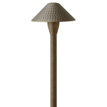 Hardy Island Textured Exterior Path Light by Hinkley Lighting | 16010MZ