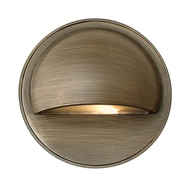 Hardy Island Round Eyebrow Deck Sconce by Hinkley Lighting | 16801MZ
