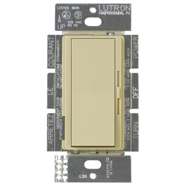 Diva 8A Fluorescent 3-Way/ Single Pole Dimmer