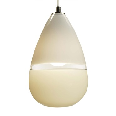 Lattimo Teardrop Pendant by Siemon & Salazar | 23-12-19S-BZ-WP