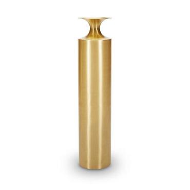 Beat Vessel Tall Brass