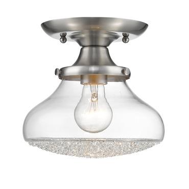 Asha semi flush ceiling light