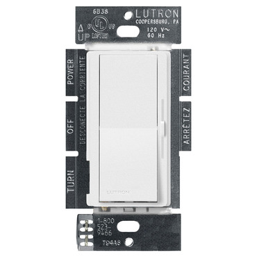 Diva Satin 600W Incandescent Single Pole Dimmer