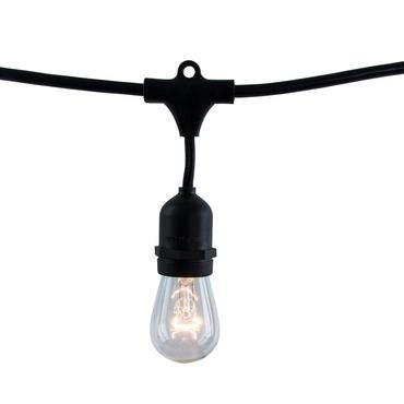 String Light Set S14 Med Base 14 Foot 10 Socket
