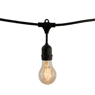 String Light Set A19 Med Base 14 Foot 10 Socket