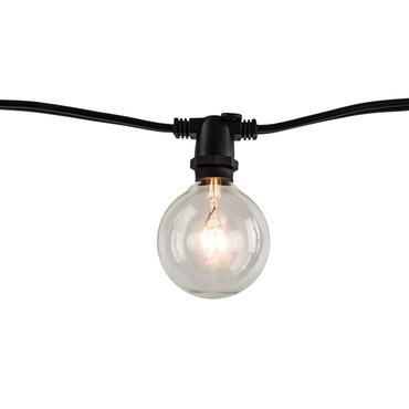 String Light Set G16 Candelabra Base 14 Foot 10 Socket