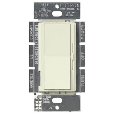 Diva Satin 1000W Magnetic LV Single Pole Dimmer by Lutron   DVSCLV-10P-BI