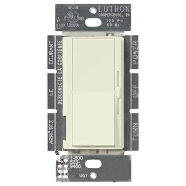 Diva Satin 600VA Magnetic Low Voltage Single Pole Dimmer