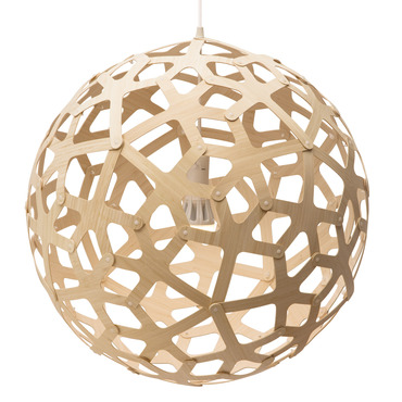 Coral Pendant by David Trubridge | COR-0600-NAT-NAT