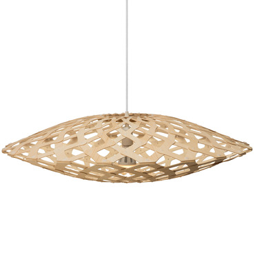 Flax Pendant by David Trubridge | FLX-0800-NAT-NAT