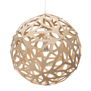 Floral Pendant by David Trubridge | FLO-0600-NAT-NAT
