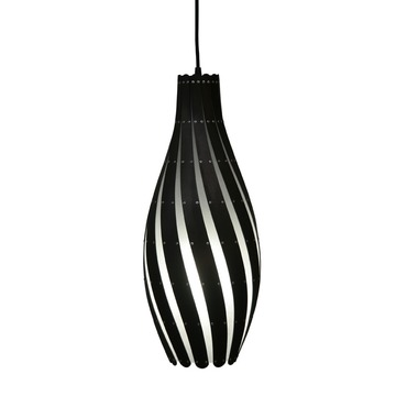 Swish Pendant by David Trubridge | DTL036-STAIN-BLACK-2S