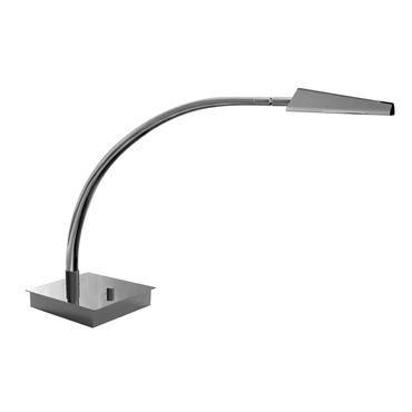 Ronin Arched Arm LED Table Lamp W / Square Base