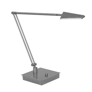 Ronin Bendable Arm LED Table Lamp W / Square Base