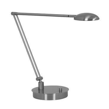 Vital Bendable Arm LED Table Lamp W / Round Base