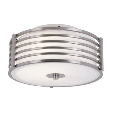 Gated Glass Ceiling Flush Mount by Trans Globe | 10040 BN