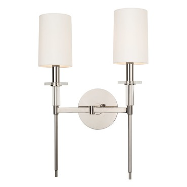 Amherst Wall Sconce by Hudson Valley Lighting | 8512-PN