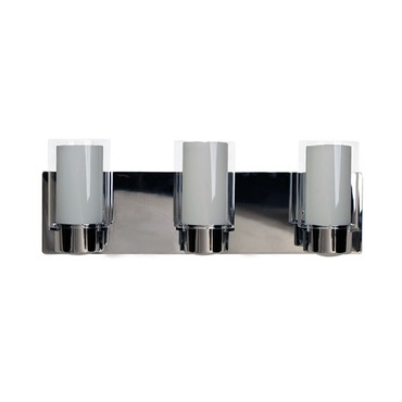 Essex Bathroom Vanity Light by DVI Lighting | DVP9043CH-OP