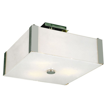 Metro Square Ceiling Flush Mount by Trans Globe | 3090 PC