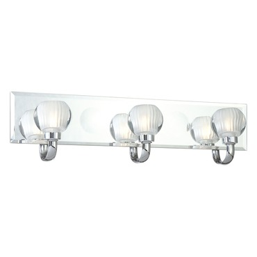 Curvy Bath Bar 3-Light