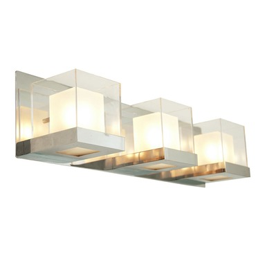 Narvik Bath Bar by DVI Lighting | DVP3943CH-OP