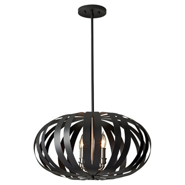 Woodstock Pendant by Feiss | F2738/4TXB