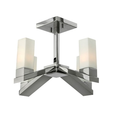 Omni Semi Flush Ceiling Mount by Fredrick Ramond | FR47201PNI