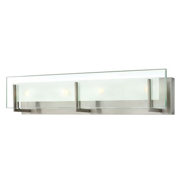 Latitude Four Light Bath Bar by Hinkley Lighting | 5654bn