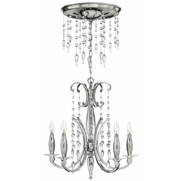 Alexandra 5 Light Chandelier by Fredrick Ramond | FR43625PNI