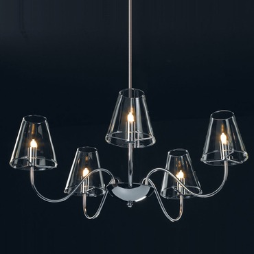Chic 5 Light Chandelier by Et2 | e20292-10