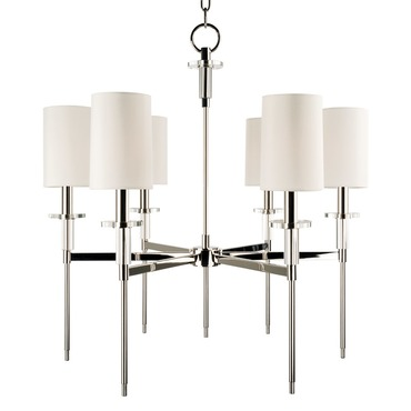 Amherst Chandelier by Hudson Valley Lighting | 8516-PN
