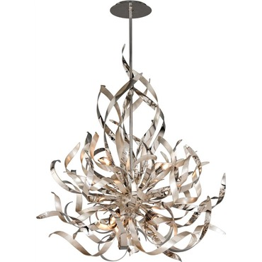 Graffiti Chandelier by Corbett Lighting | 154-46