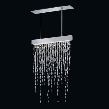 Crystalline Icicles Linear Suspension by Swarovski Centerpieces | SCR115-SS1