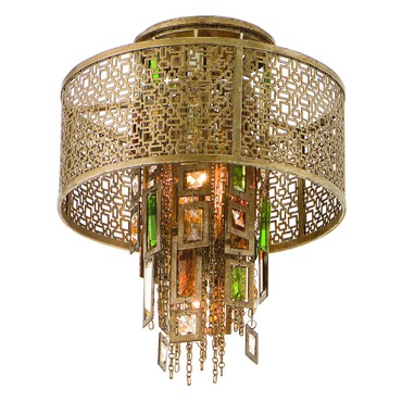 Riviera Semi Flush Ceiling Mount