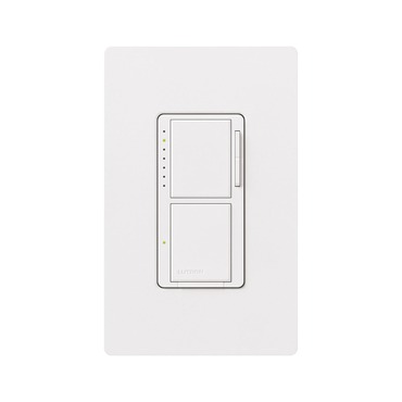 Maestro 300W Dual Dimmer with Digital Switch