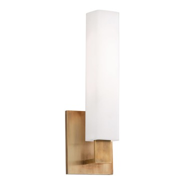 Livingston Vanity Wall Light by Hudson Valley Lighting | 550-AGB