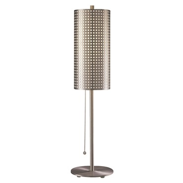 Grid Table Lamp by George Kovacs | P5742-084