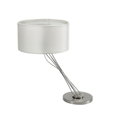 Liz Table Lamp W / Drum Shade by Lightology Collection | LC-500-44/511-03