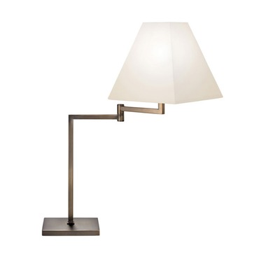 Square Swing Arm Table Lamp