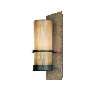 Bamboo Outdoor Wall Sconce