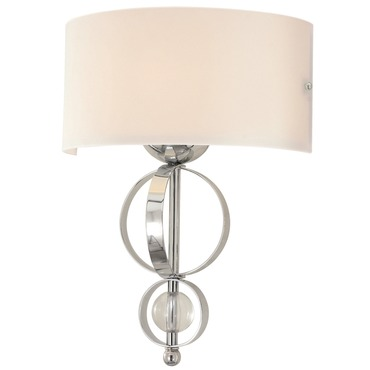 Cerchi Wall Sconce by Golden Lighting | 1030-WSC CH