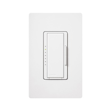 Maestro 1000/800W Magnetic Low Voltage Multi Location Dimmer by Lutron | malv-1000-wh
