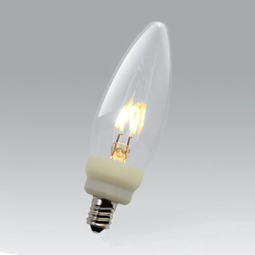U-LED LED C11 Candle 0.6W 120V by Ushio America Inc. | 1003701