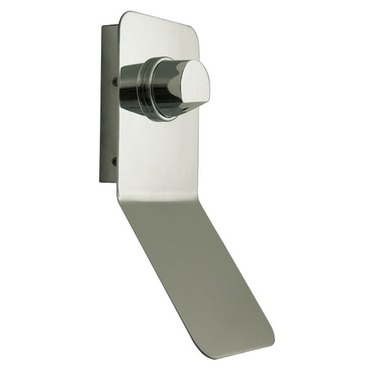 Genesis LED Reading Wall Sconce by DVI Lighting   DVP0134CH-OP