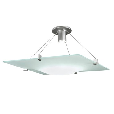 Handkerchief Semi Flush Mount