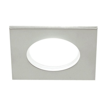 LEDS314 3.5 Inch 12 Watt Wide Beam Square Shower Trim