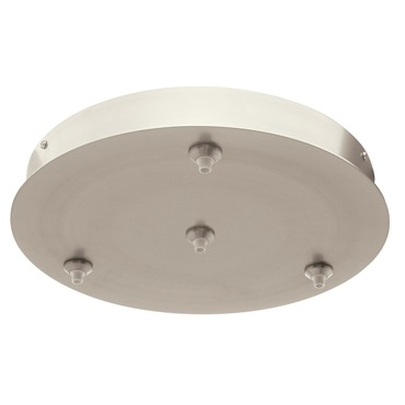 Fast Jack LED 12 Inch Round 4 Port Canopy by Edge Lighting | FJP-12RD-LED-4-SN