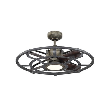 Alsace II Ceiling Fan with LED Light